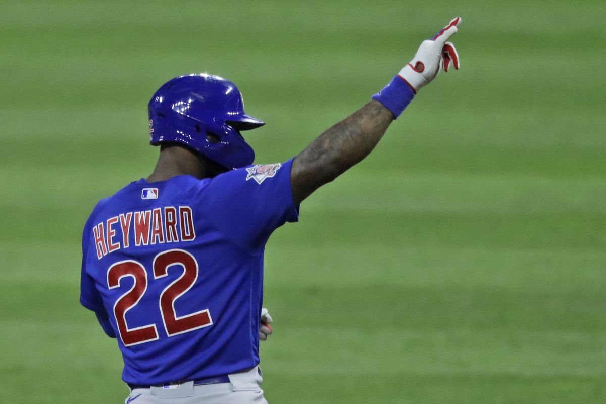 """""""I think we just need to continue to try and keep pushing and give ourselves a chance to play more baseball,"""" the Cubs Jason Heyward said."""
