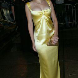 Scarlett Johansson in Calvin Klein Collection in 2004.
