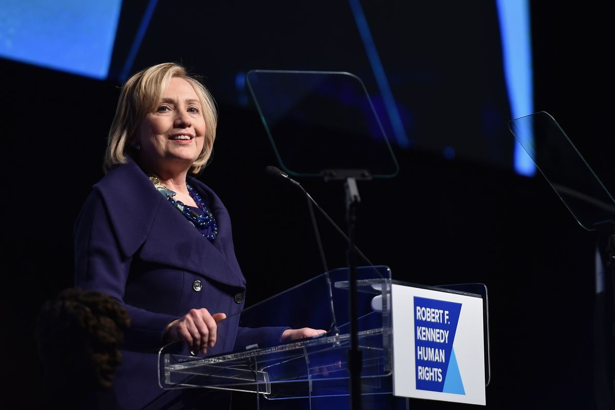 Hillary Clinton is going to win without even really running.