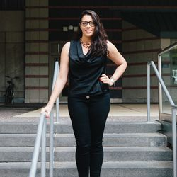 <b>Rosemary Paone, 21, of Staten Island. Specialization: Sportswear</b>