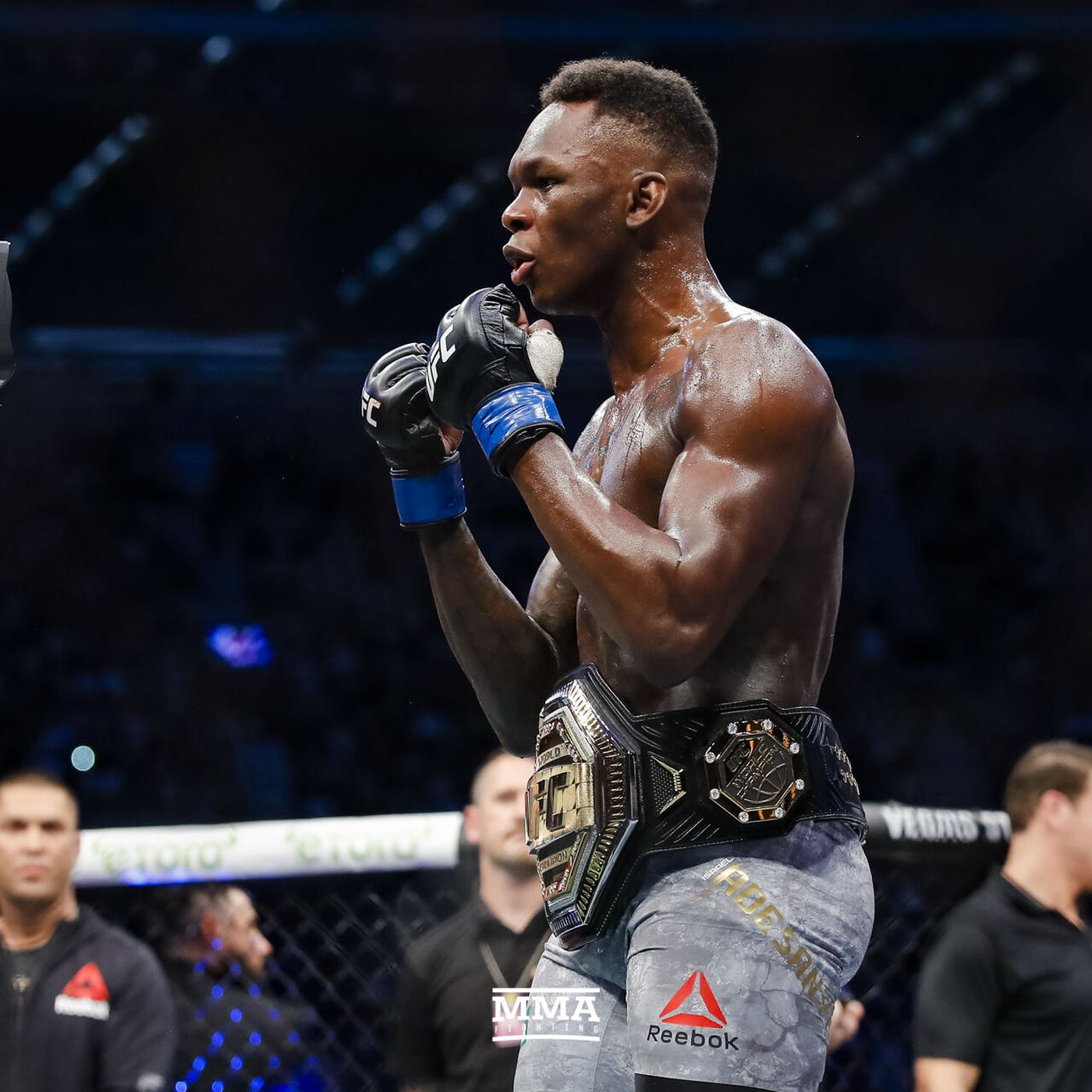 Israel Adesanya targets Yoel Romero next, wants to fight 'the guy everyone thinks can beat me' - MMA Fighting