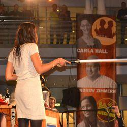 Padma and a light saber
