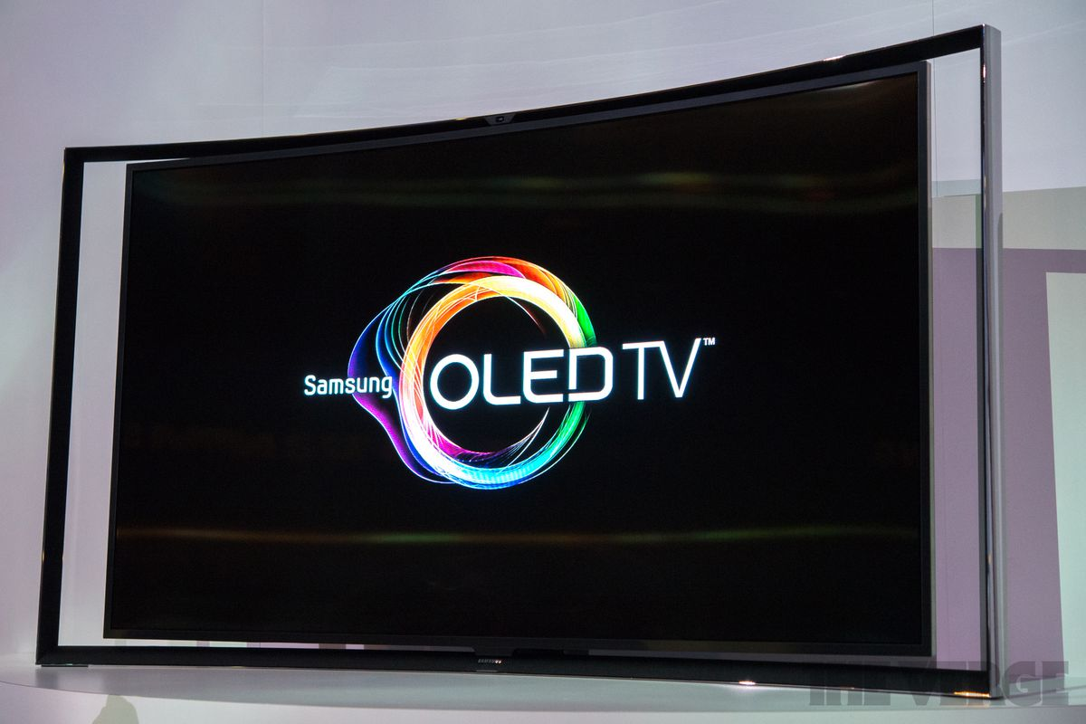 samsung tv oled. samsung curved oled tv (hands on) tv oled g
