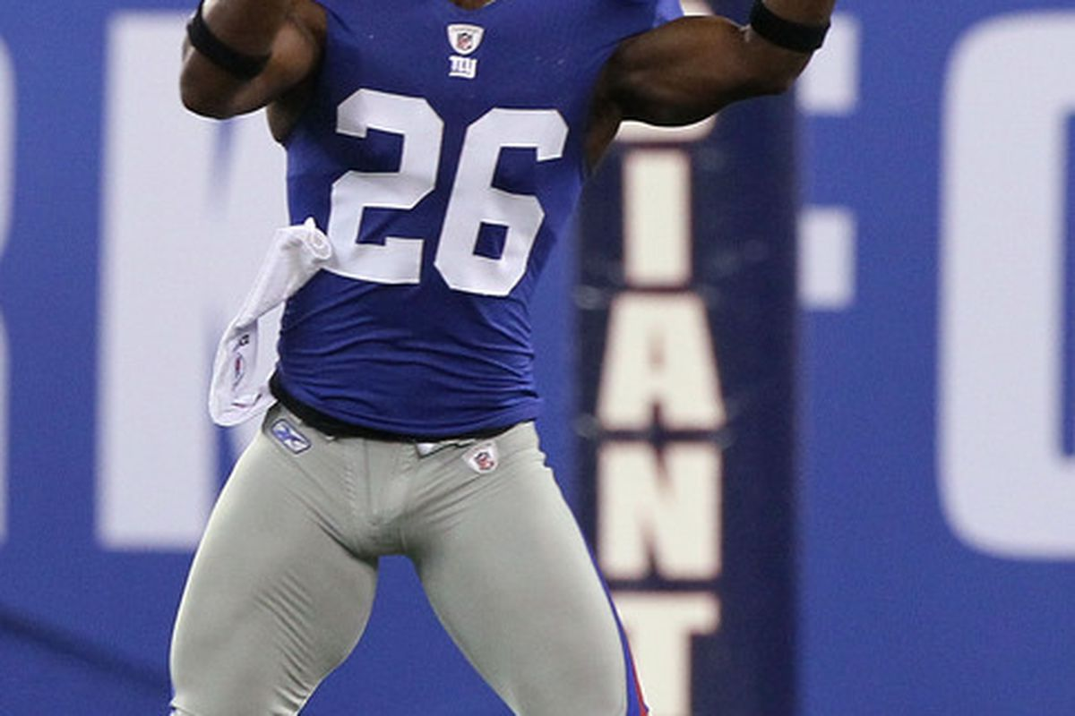 <strong>Antrel Rolle</strong>.  (Photo by Jim McIsaac/Getty Images)