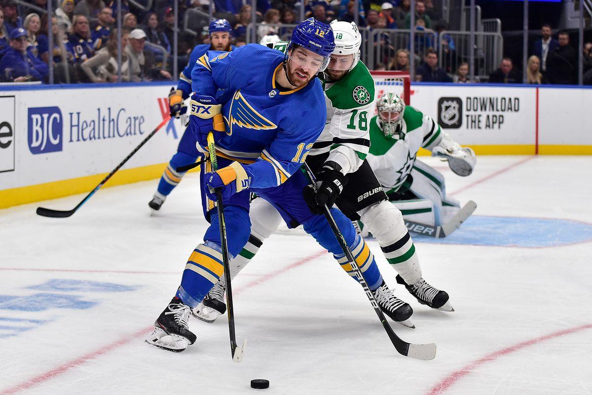 NHL: Dallas Stars at St. Louis Blues