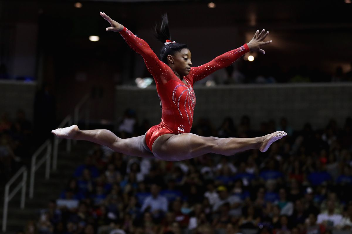 Simone Biles Could Hit Goat Status With 5 Gymnastics Golds