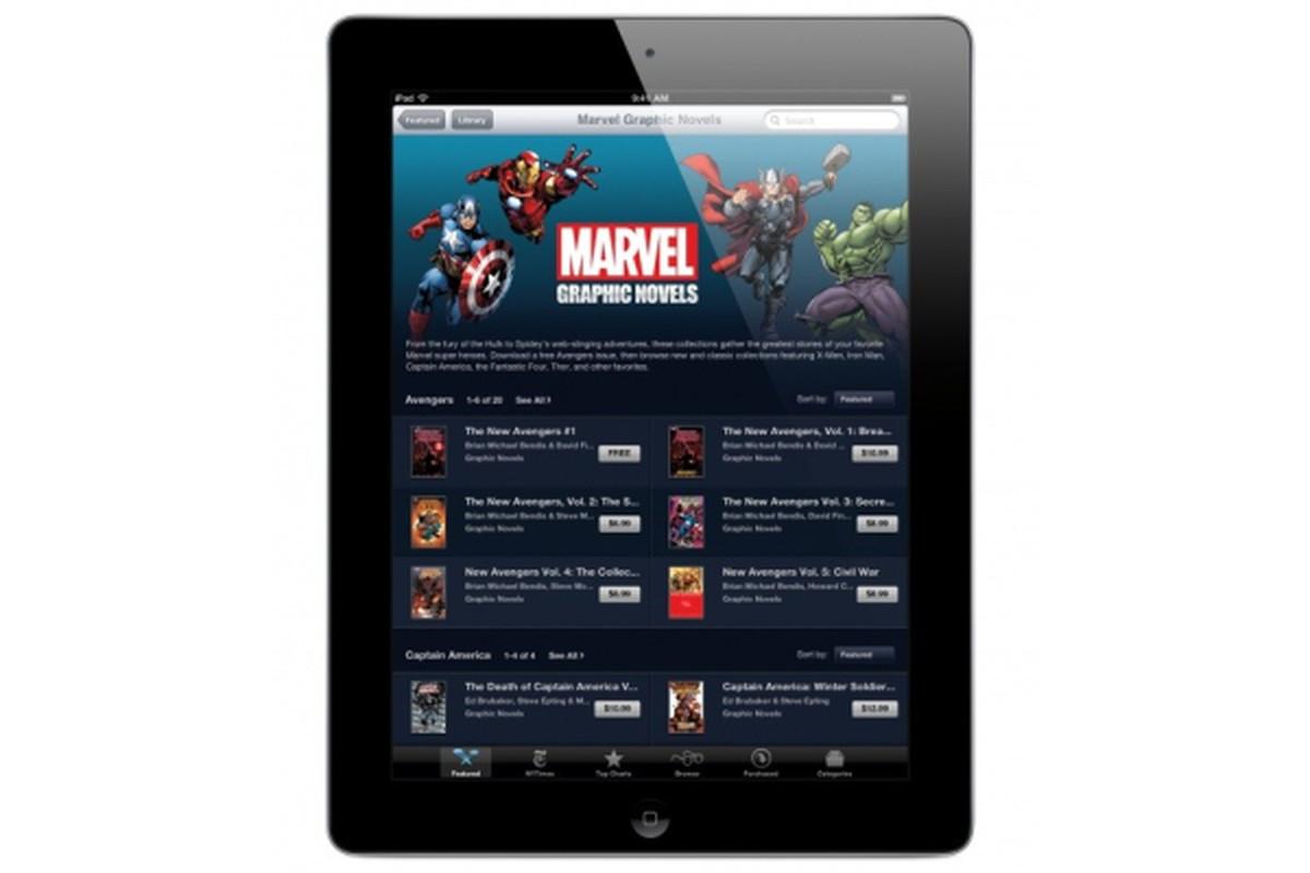Marvel iBooks
