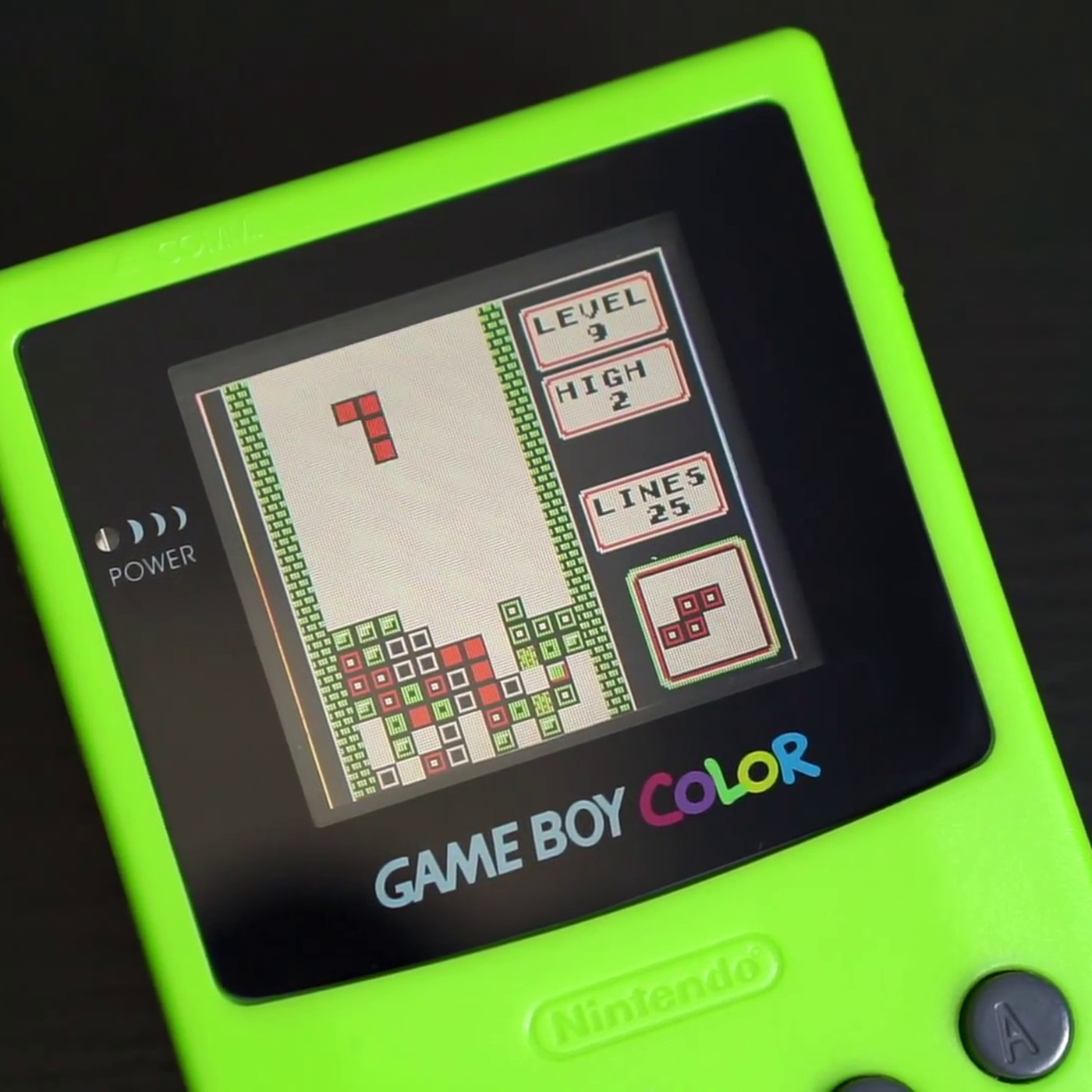 Game Boy Color Finally Modded With Backlight And It Looks