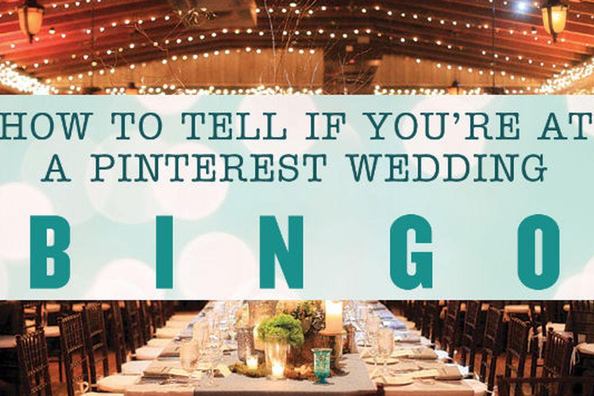 """Bingo board by <a href=""""http://www.jennajosepher.com/"""">Jenna Josephe</a>. Background <a href=""""http://www.bridalguide.com/planning/wedding-reception/rustic-wedding-style"""">via</a>"""