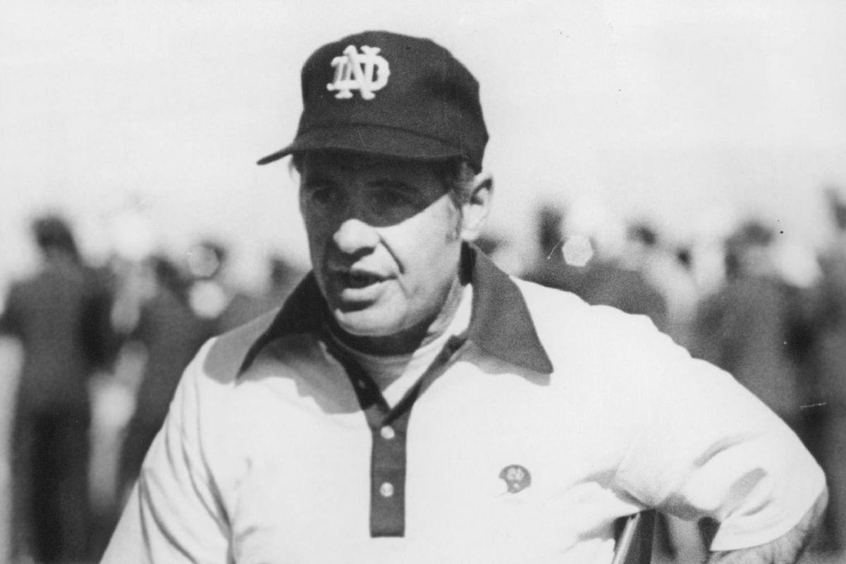 OCT 18 1975, 10-22-1975; Devine, Dan - Football Coach, Notre Dome;
