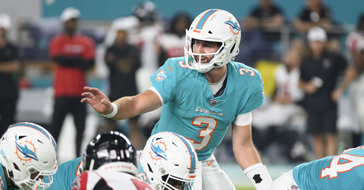 Dolphins fan confidence slips as preseason begins