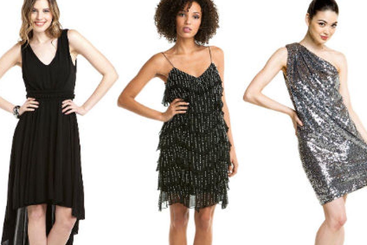 Dresses from Rue La La's party boutique