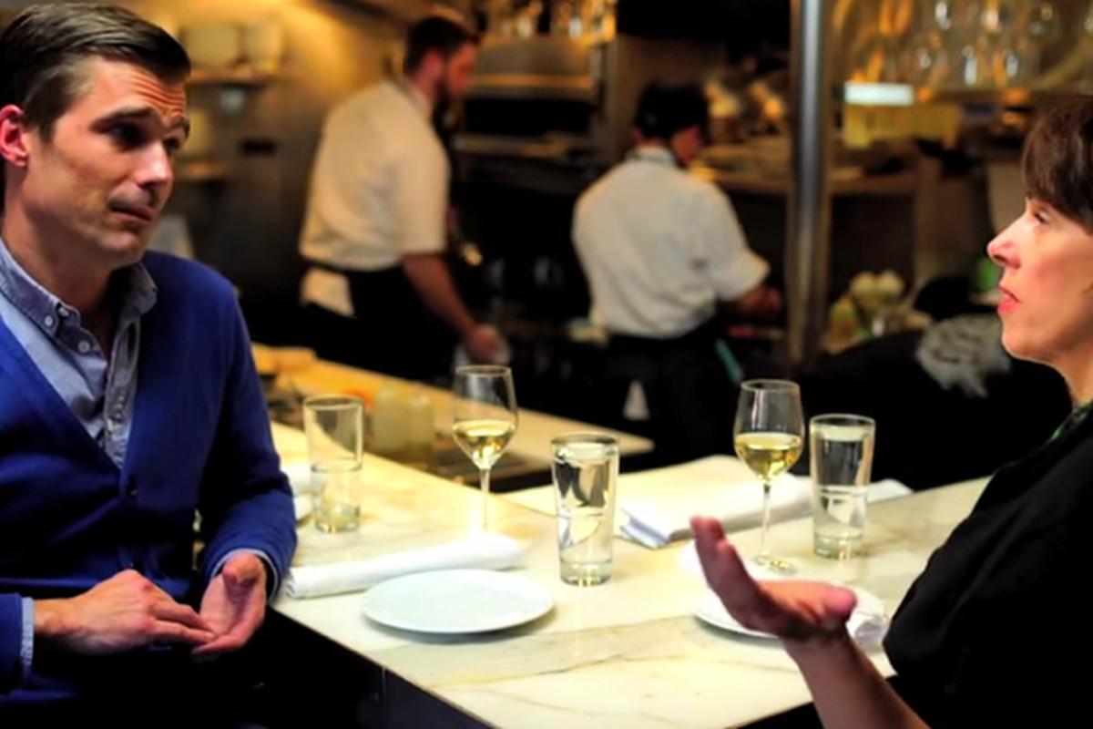 Hugh Acheson and Barbara Lynch at B&G Oysters