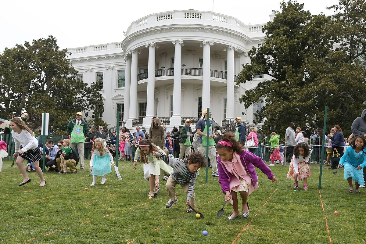 The White House Easter Egg roll in 2013.