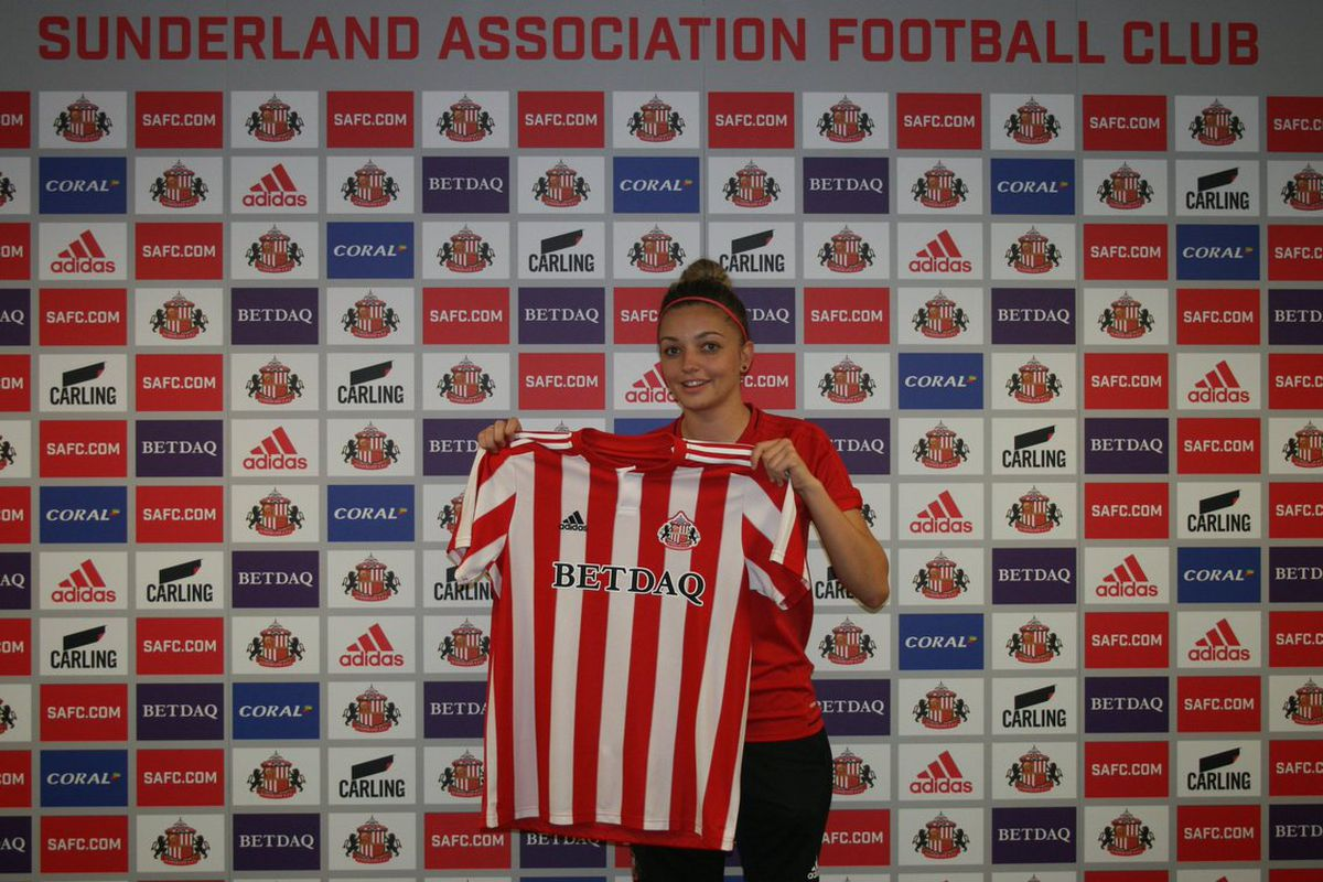 BECCA S BLOG  Sunderland Ladies are showing who s boss after their sad  demotion to the 3rd tier 4ae7ac907b