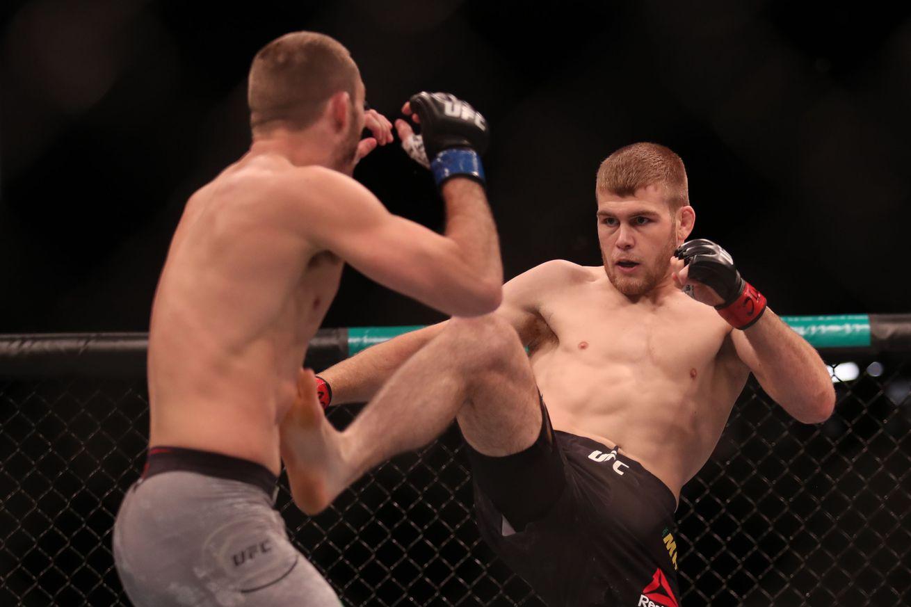 MMA: UFC Fight Night-Adelaide-Matthews vs Martin