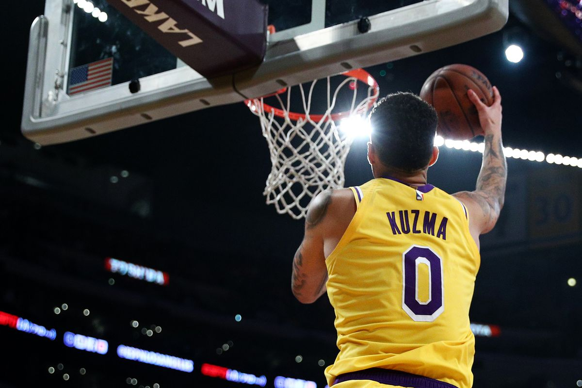 Most Interesting Lakers No  3: Can Kyle Kuzma be a Sixth Man