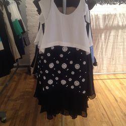 Embellished dress, $250