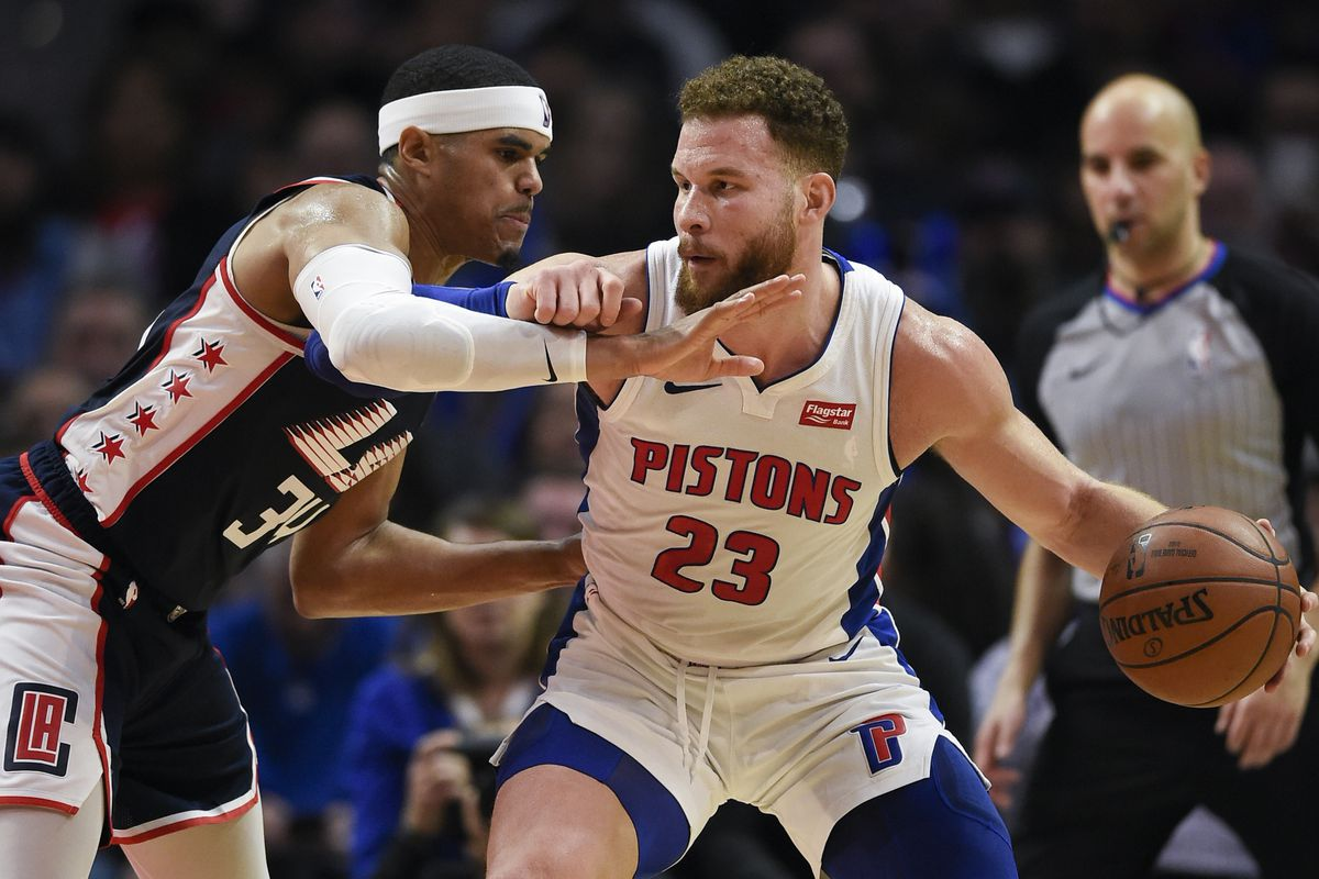 ff1b96422f59 Pistons Beat Clippers 109-104 Behind Blake Griffin s Game-High 44 Points -  Clips Nation