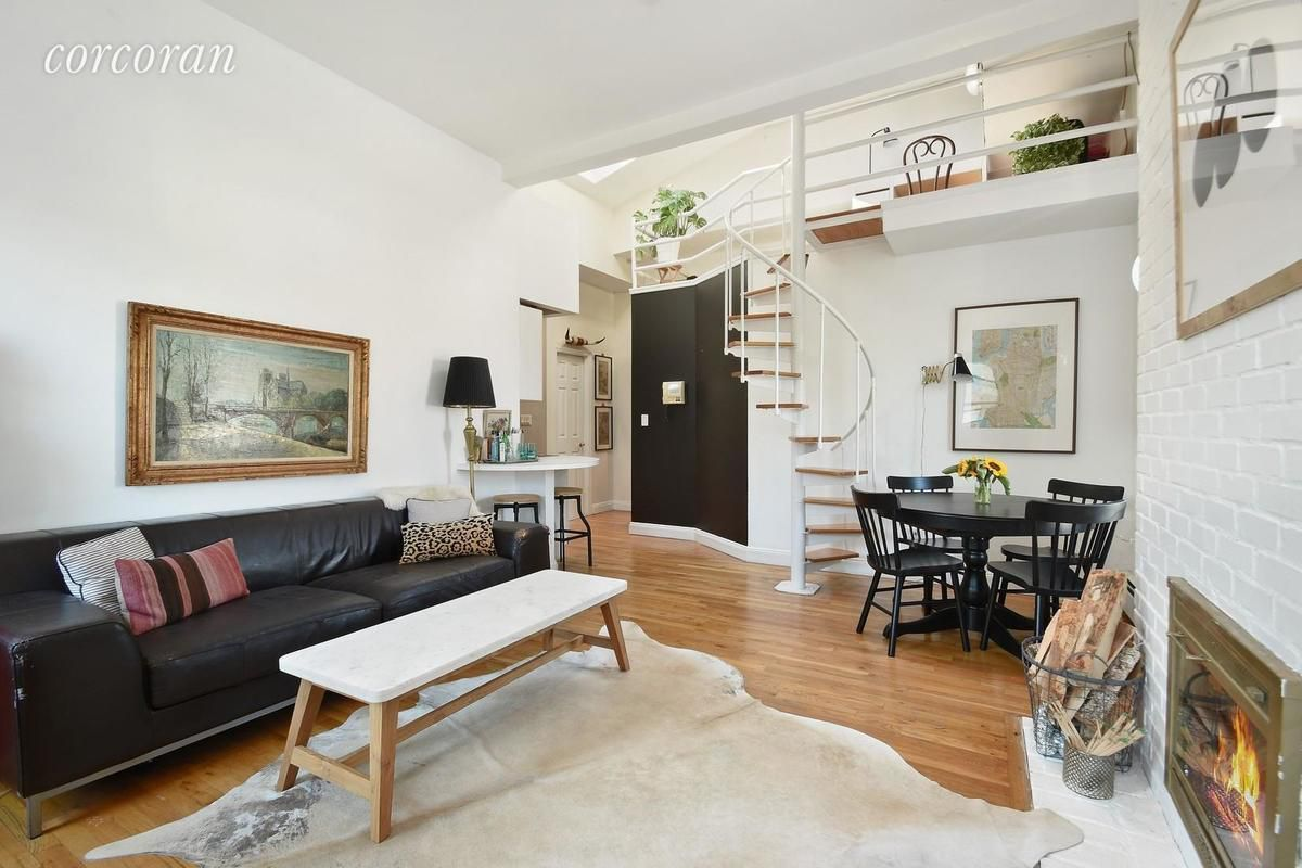 For 485k A Stylish Bay Ridge Two Bedroom With A Roof Deck And Wood Burning Fireplace Curbed Ny