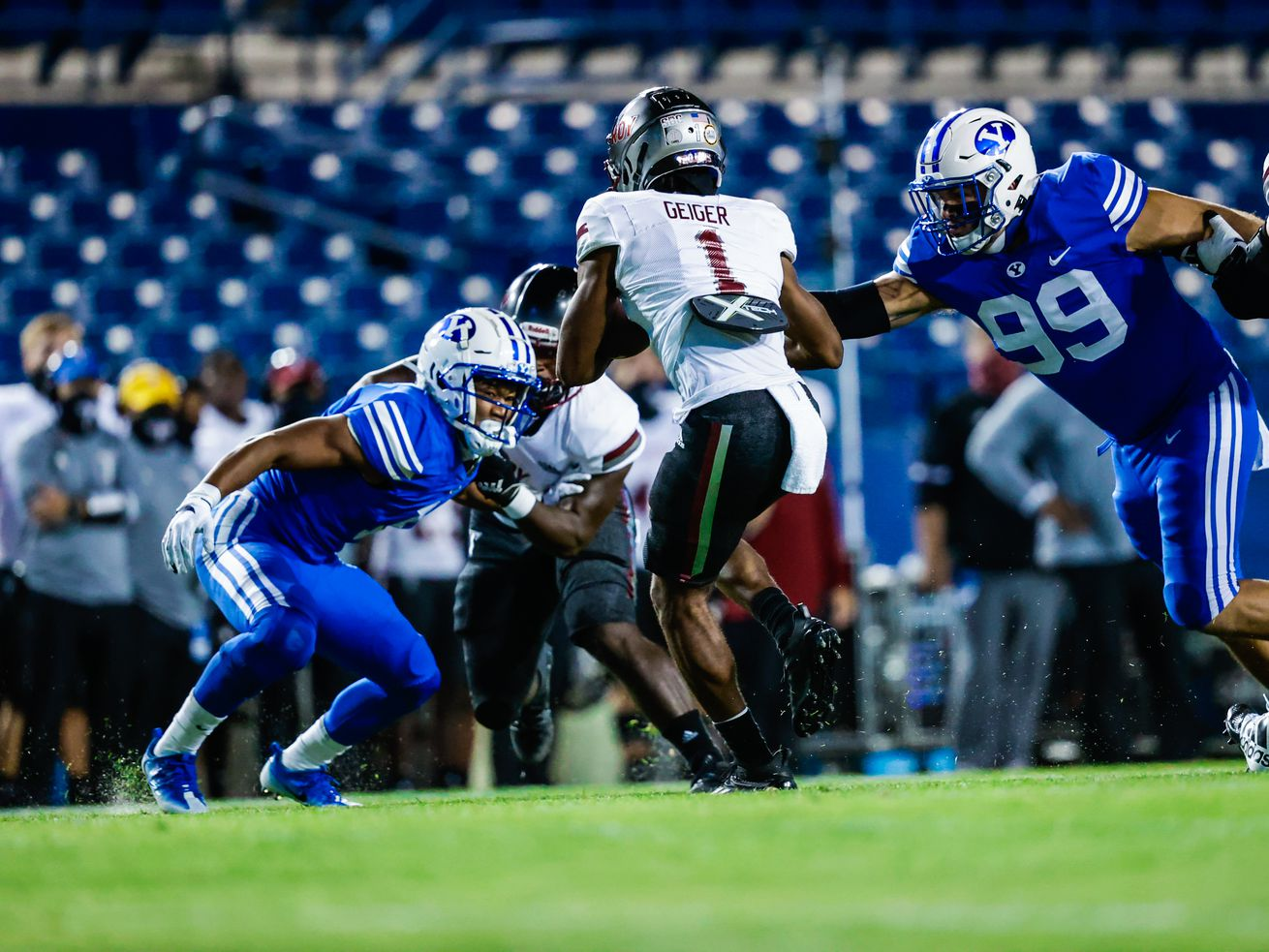BYU football: Several new faces see significant contributions in blowout win over Troy