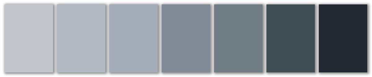 grey color swatches, Read This Before You Pick a Paint Color, Sep/Oct 2020