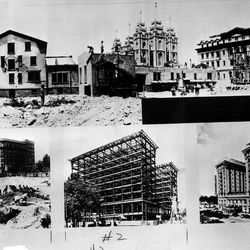 The Hotel Utah, famous Salt Lake City landmark, had a Trane heating system installed when it was built. It was one of the first big Trane installations in the country. July 21, 1947.
