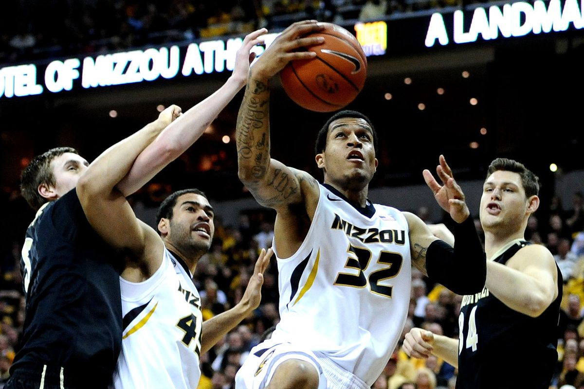 Jabari Brown shot over 40% from three point land on over five attempts per game at Missouri last season.