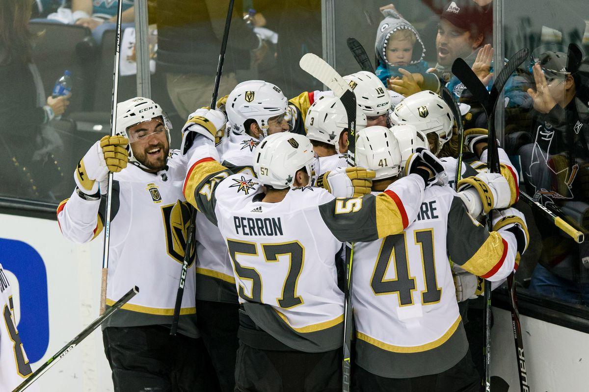 NHL: Stanley Cup Playoffs-Vegas Golden Knights at San Jose Sharks