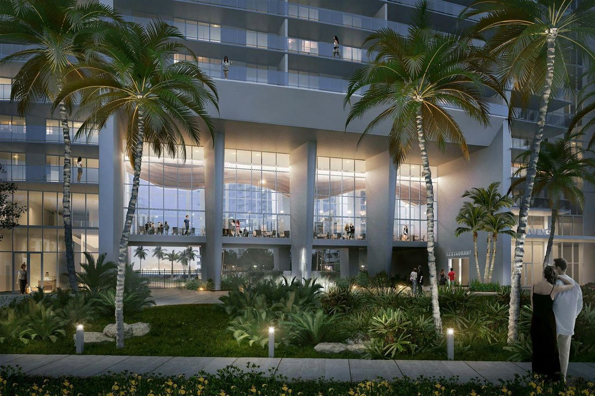 A Rendering Of Proposed Renovation To The Flamingo In South Beach Via Stantec
