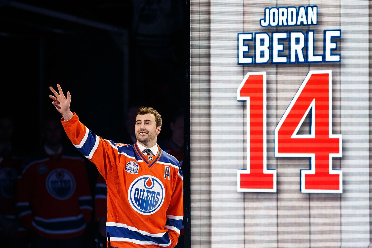 Oilers trade forward Jordan Eberle to Islanders for centre Ryan Strome