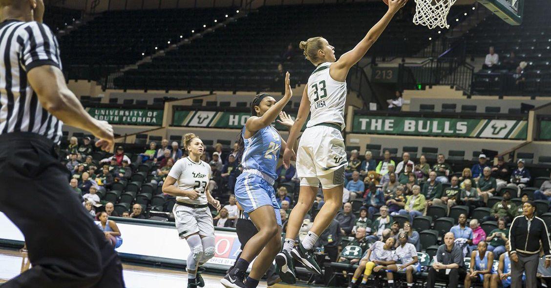 Statement Made! USF Women's Basketball Crushes No. 13 Ohio ...