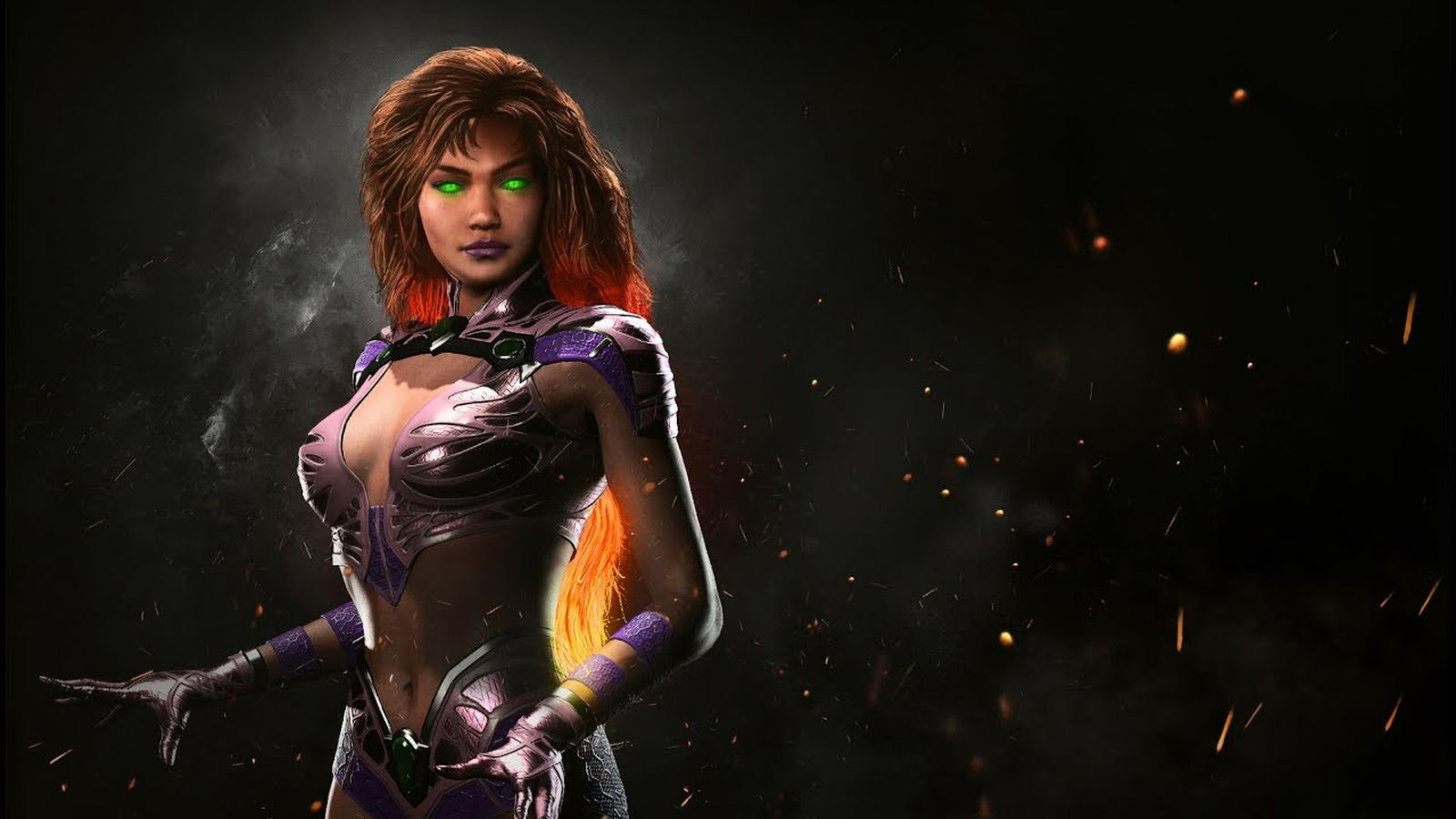 See Injustice 2's Starfire in action