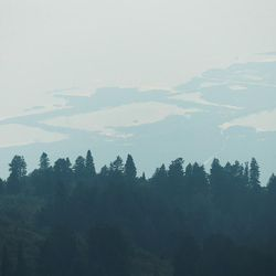 Smoke engulfs the Wasatch Front on Wednesday, Sept. 6, 2017, as the Western states endure an active fire season.