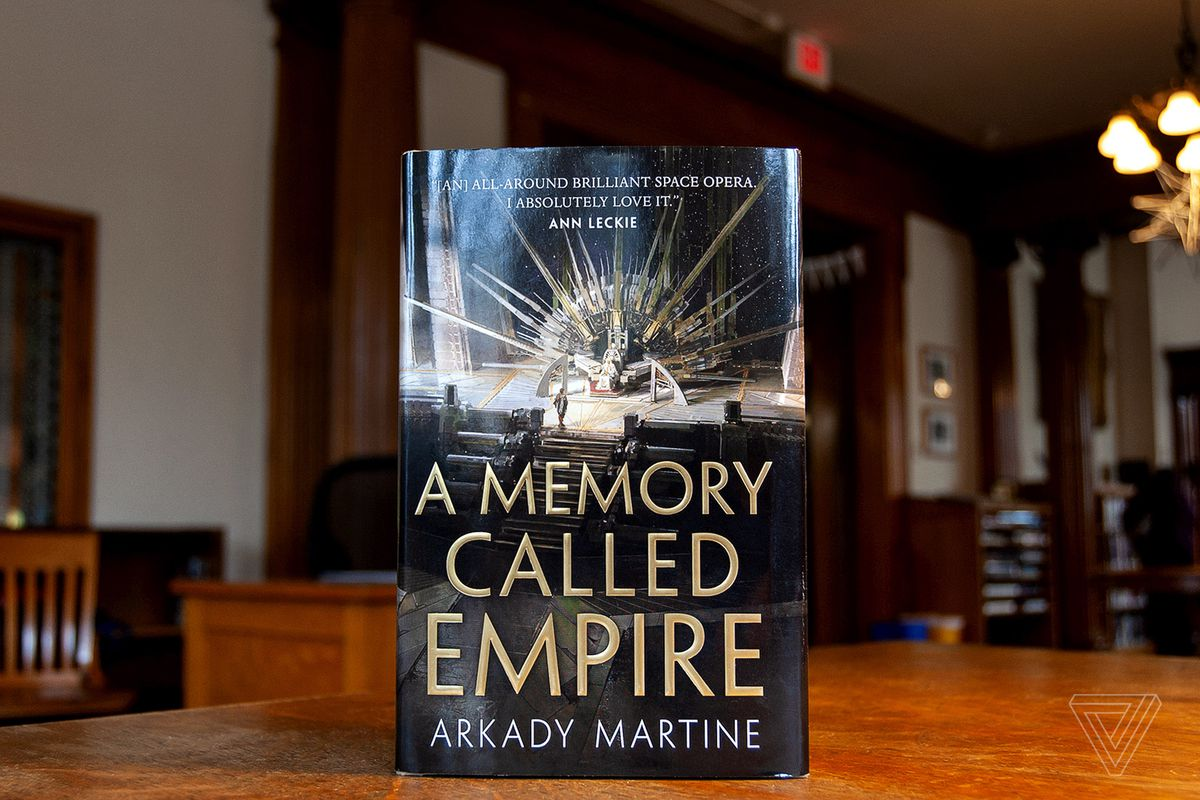A Memory Called Empire is a brilliant blend of cyberpunk, space