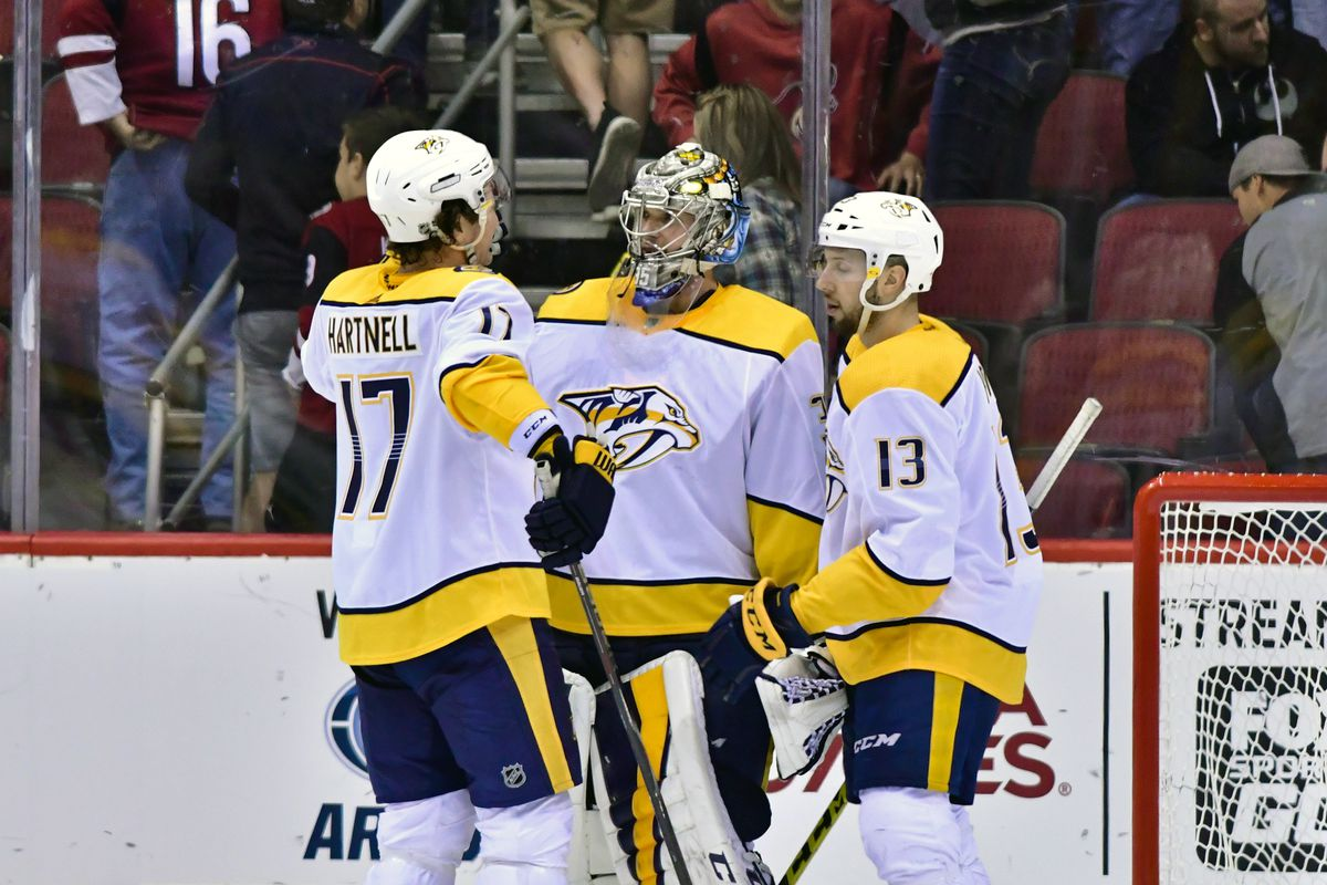 NHL: Nashville Predators at Arizona Coyotes