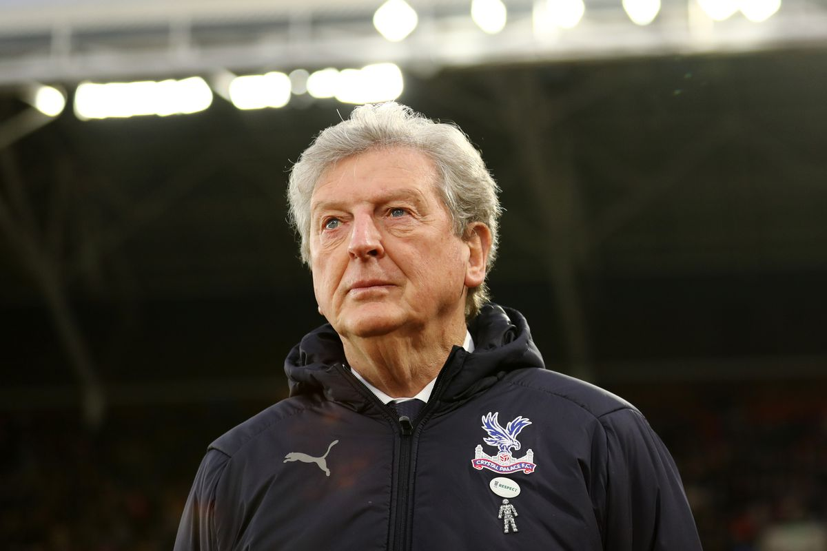 Roy Hodgson will be Crystal Palace manager for their trip to Southampton