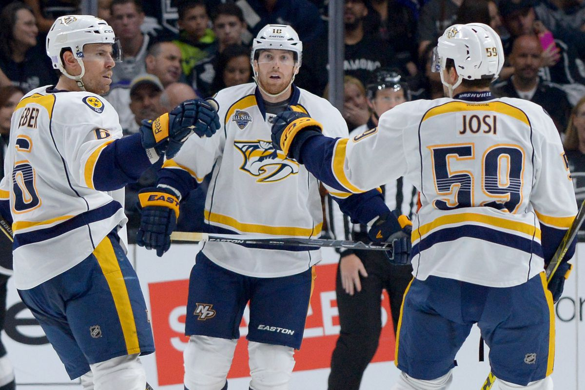 Josi, Weber, and Neal have all had good seasons for the Predators, despite the many downs.