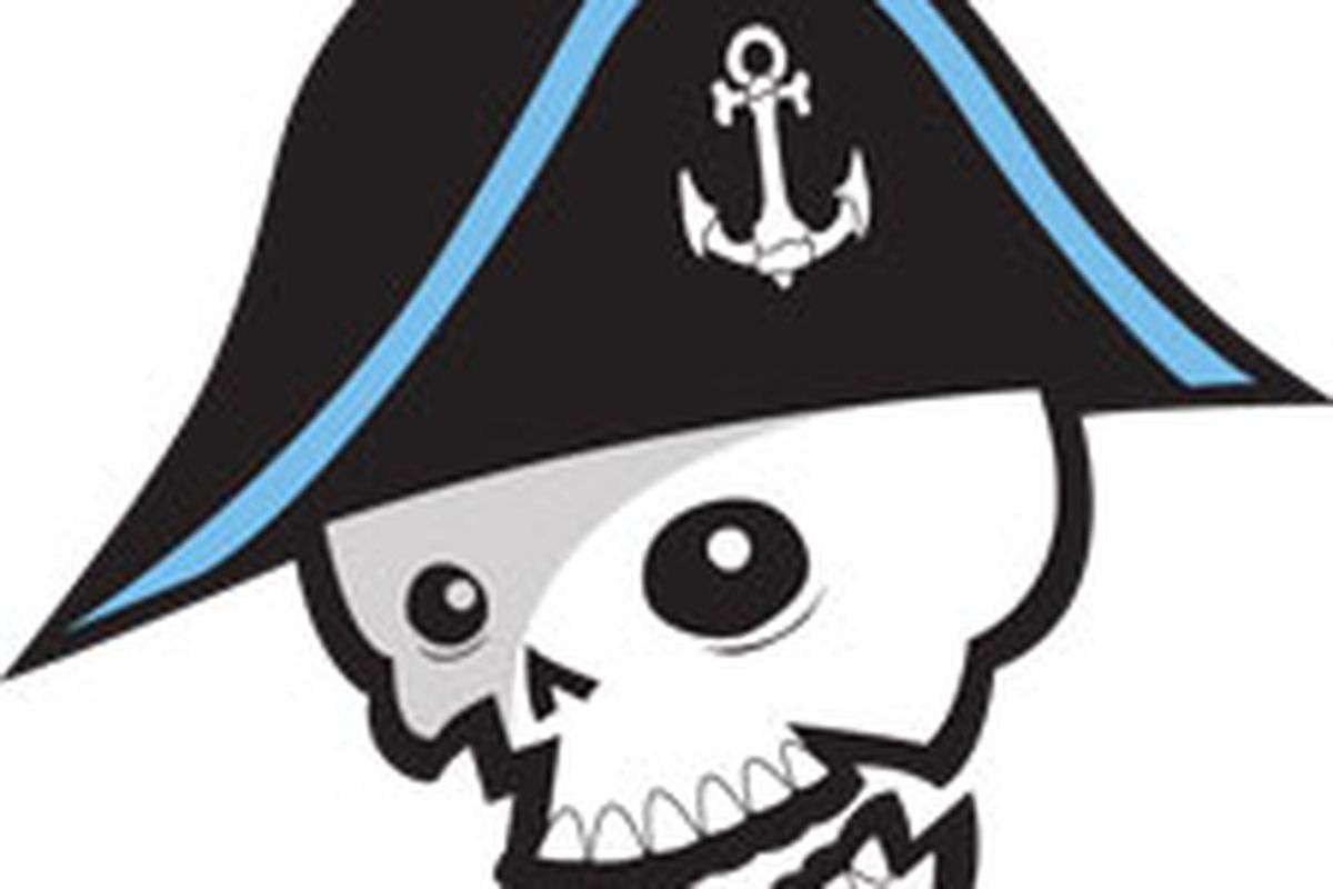 """Oooohhh... scary... scary... NOT. Whatever the Admirals paid to have this """"logo"""" designed, it was WAY too much..."""
