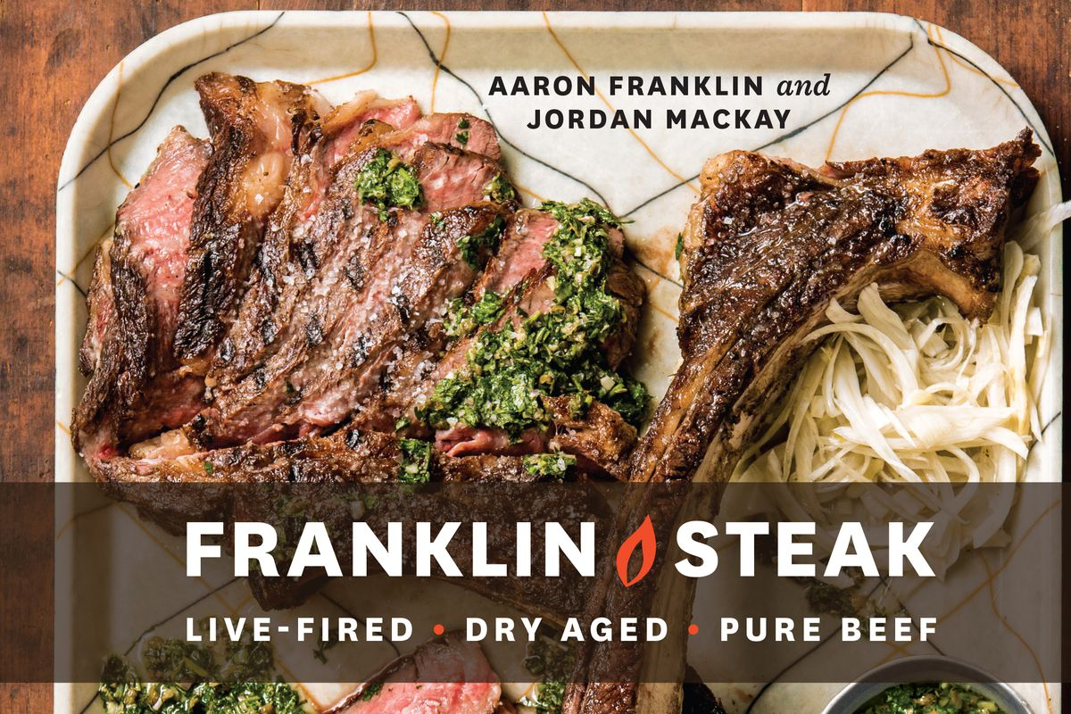 The cover of 'Franklin Steak'
