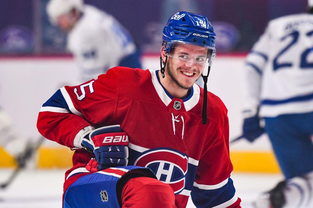 NHL: APR 12 Maple Leafs at Canadiens