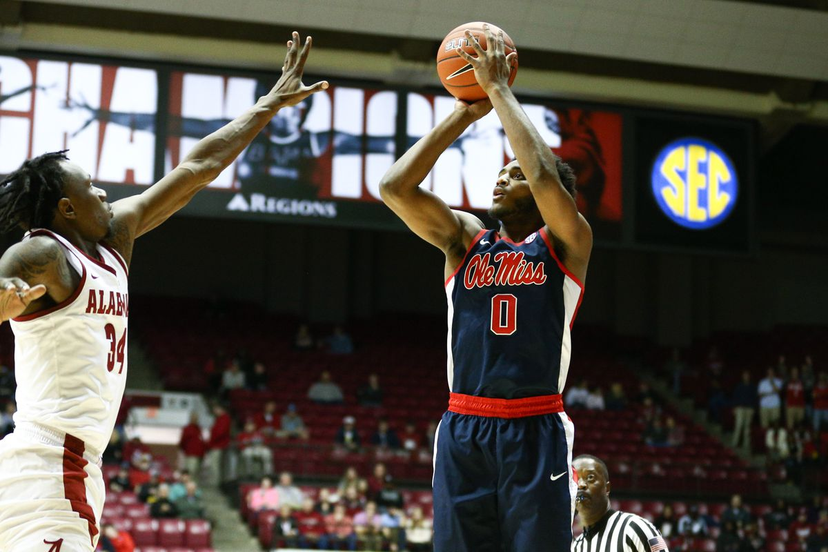 NCAA Basketball: Mississippi at Alabama