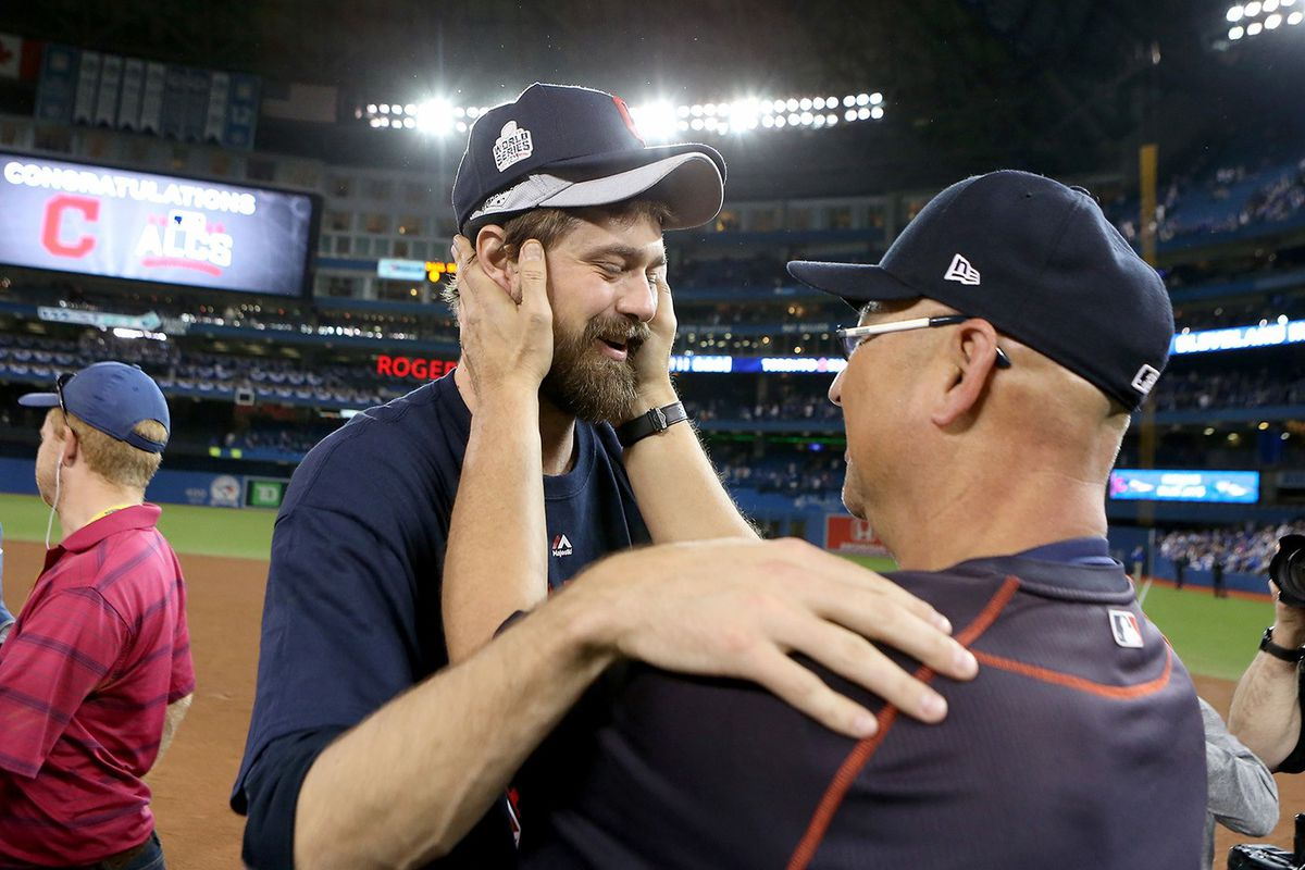 Andrew Miller and Terry Francona (GettyImages)