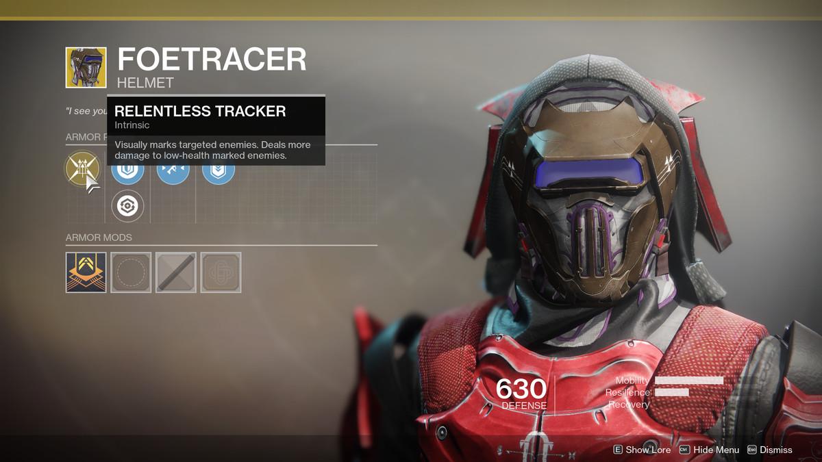 Foetracer Exotic Destiny 2