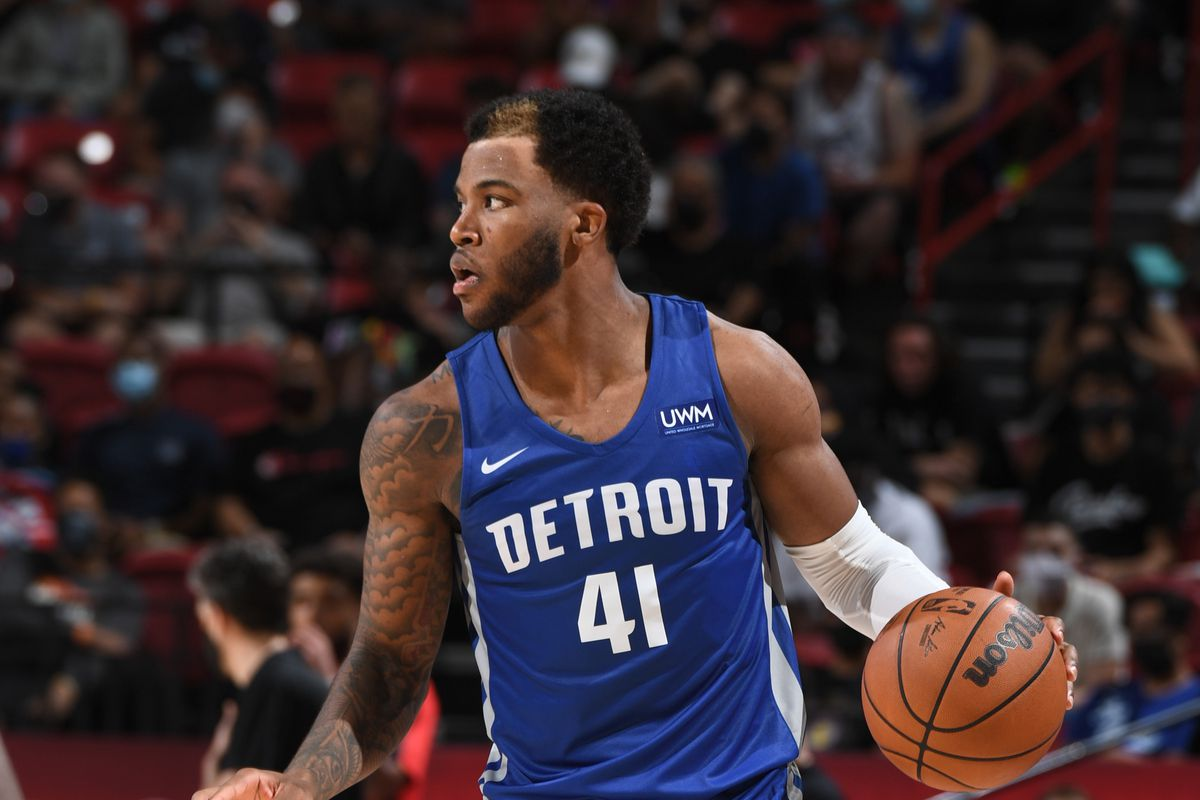 2021 Las Vegas Summer League - Detroit Pistons v Houston Rockets