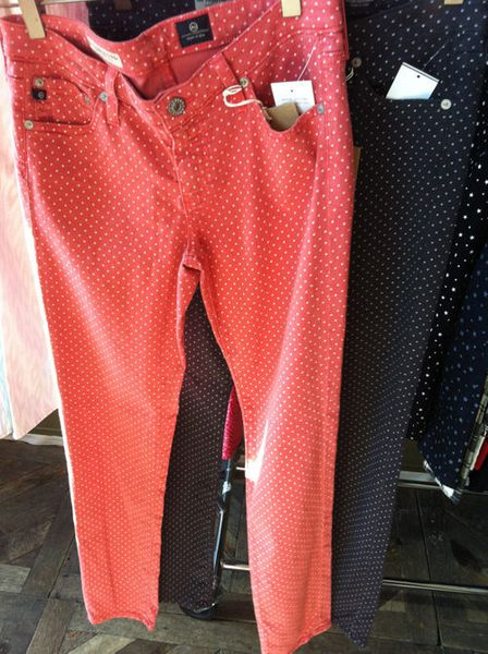 AG Jeans Presents Prints Galore for Spring, Summer, Fall ...