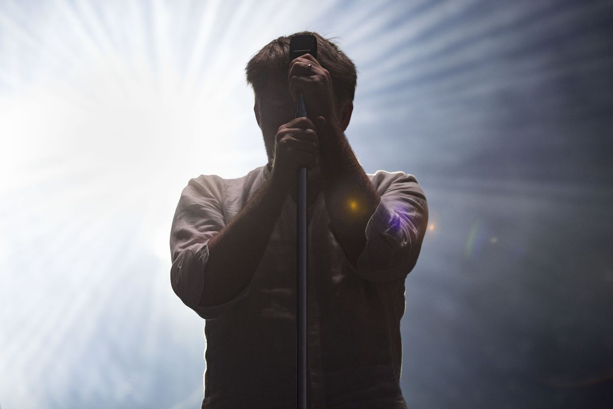 LCD Soundsystem performing at Lollapalooza 2016. | Sun-Times files