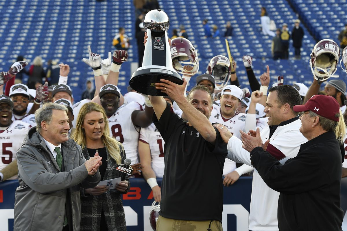 NCAA Football: American Athletic Conference Championship-Temple vs Navy