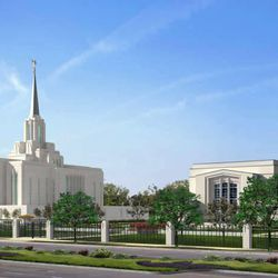 Wednesday, Feb. 17, 2010. The Church announced plans on Feb. 17, 2010, to give the Ogden Utah Temple a major renovation and facelift. Rendering of what the temple and tabernacle will look like.