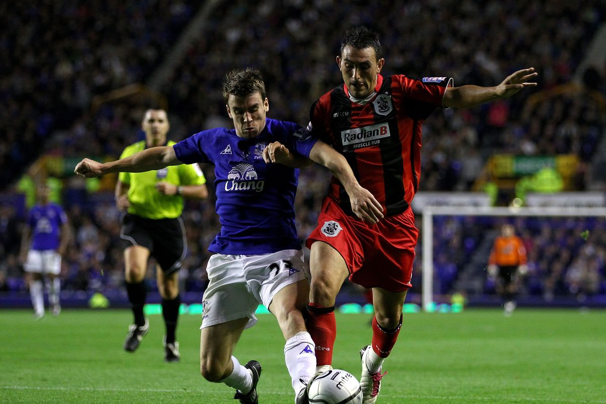 Everton v Huddersfield Town - Carling Cup 2nd Round